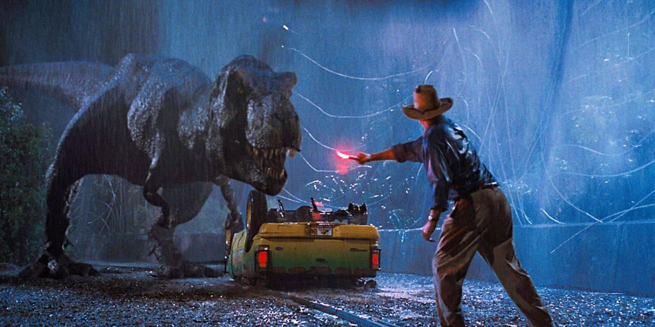 Sorti en 1993, Jurassic Park... en tête du box-office américain de cette semaine !
