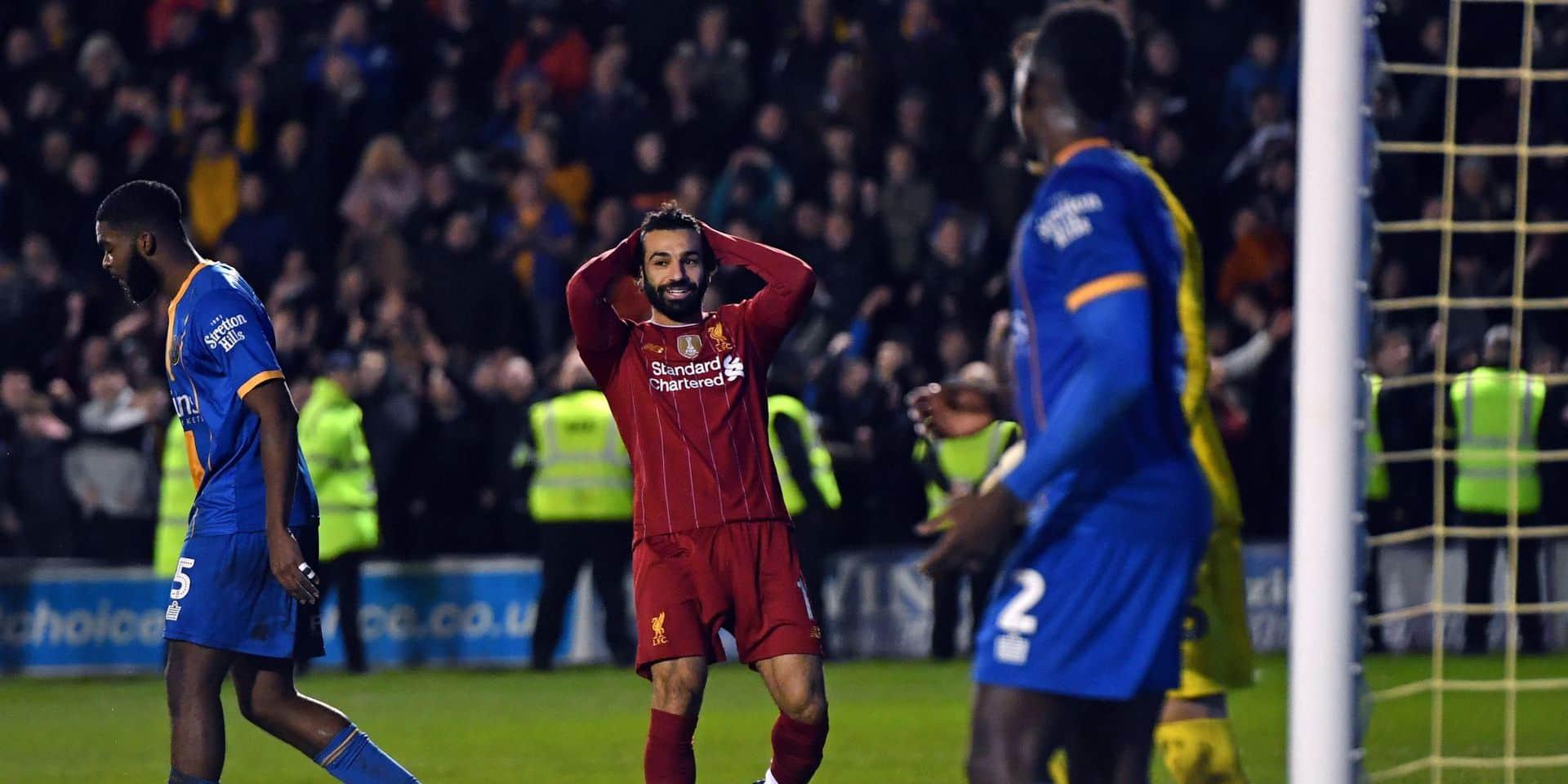 Mohamed Salah remplace Joel Matip et... lui fait une passe!