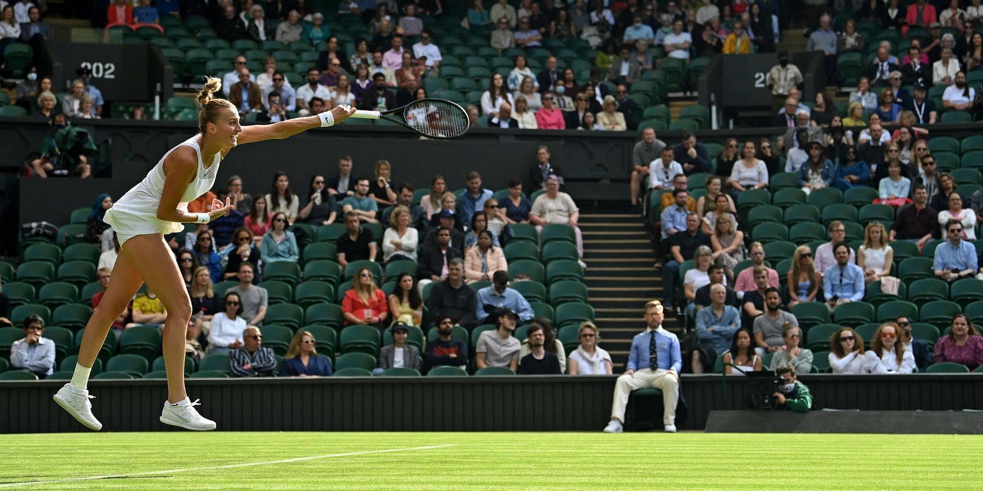 Wimbledon: Kvitova, lauréate en 2011 et 2014, est déjà sortie