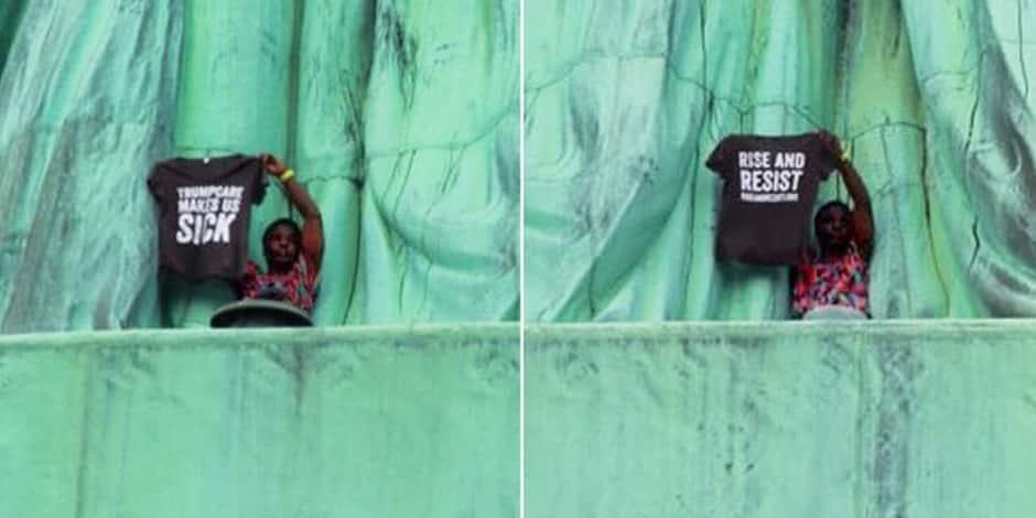 L'île de la statue de la Liberté évacuée - Faits divers