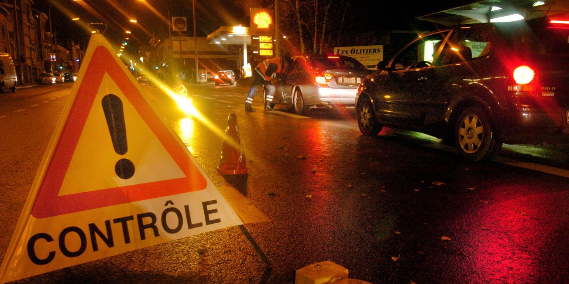 Contrôles nocturnes dans le Borinage : 12 PV et un retrait de permis