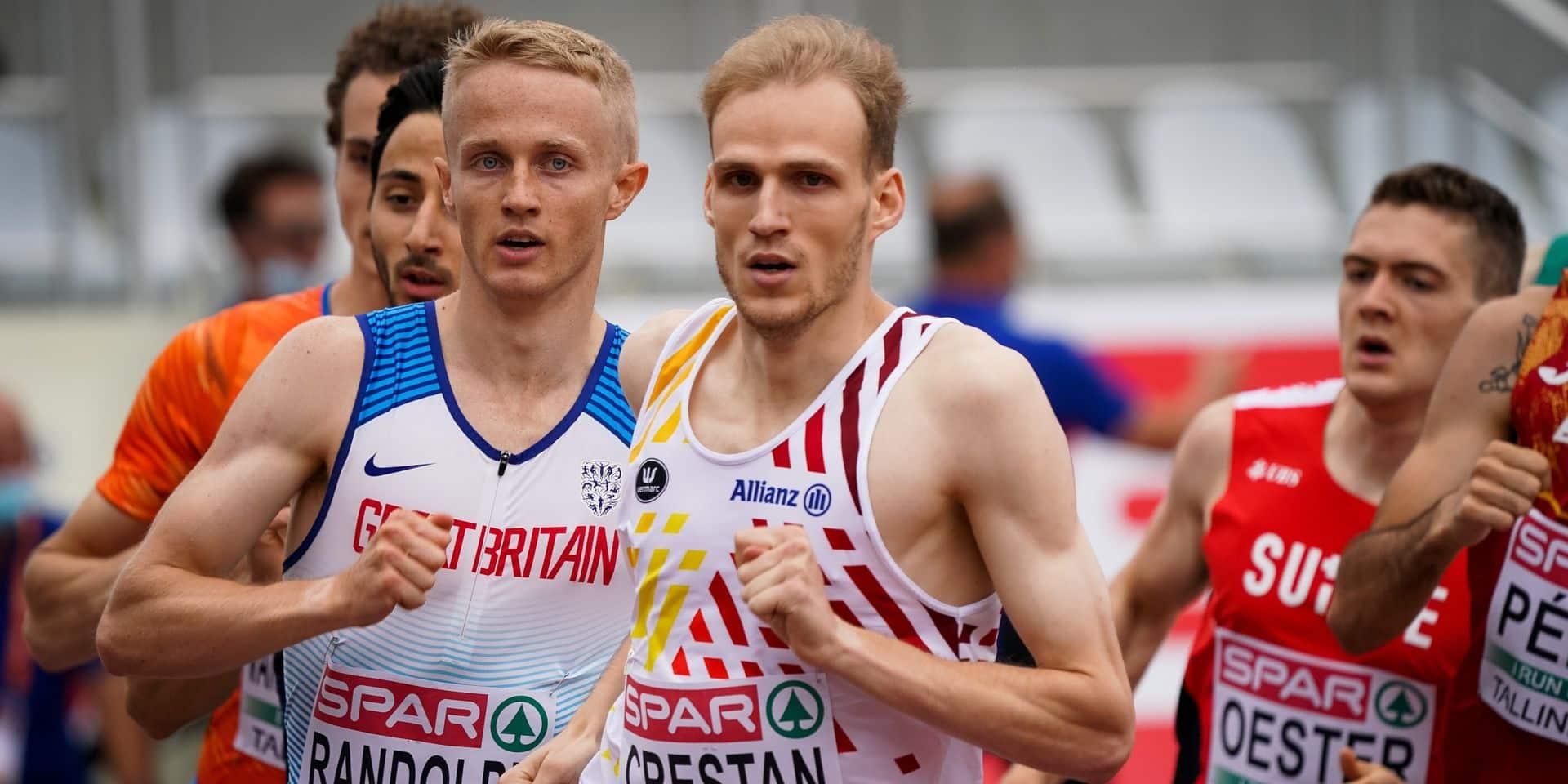 """Eliott Crestan, médaillé d'argent à l'Euro U23: """"J'ai mis l'athlétisme au premier plan"""""""