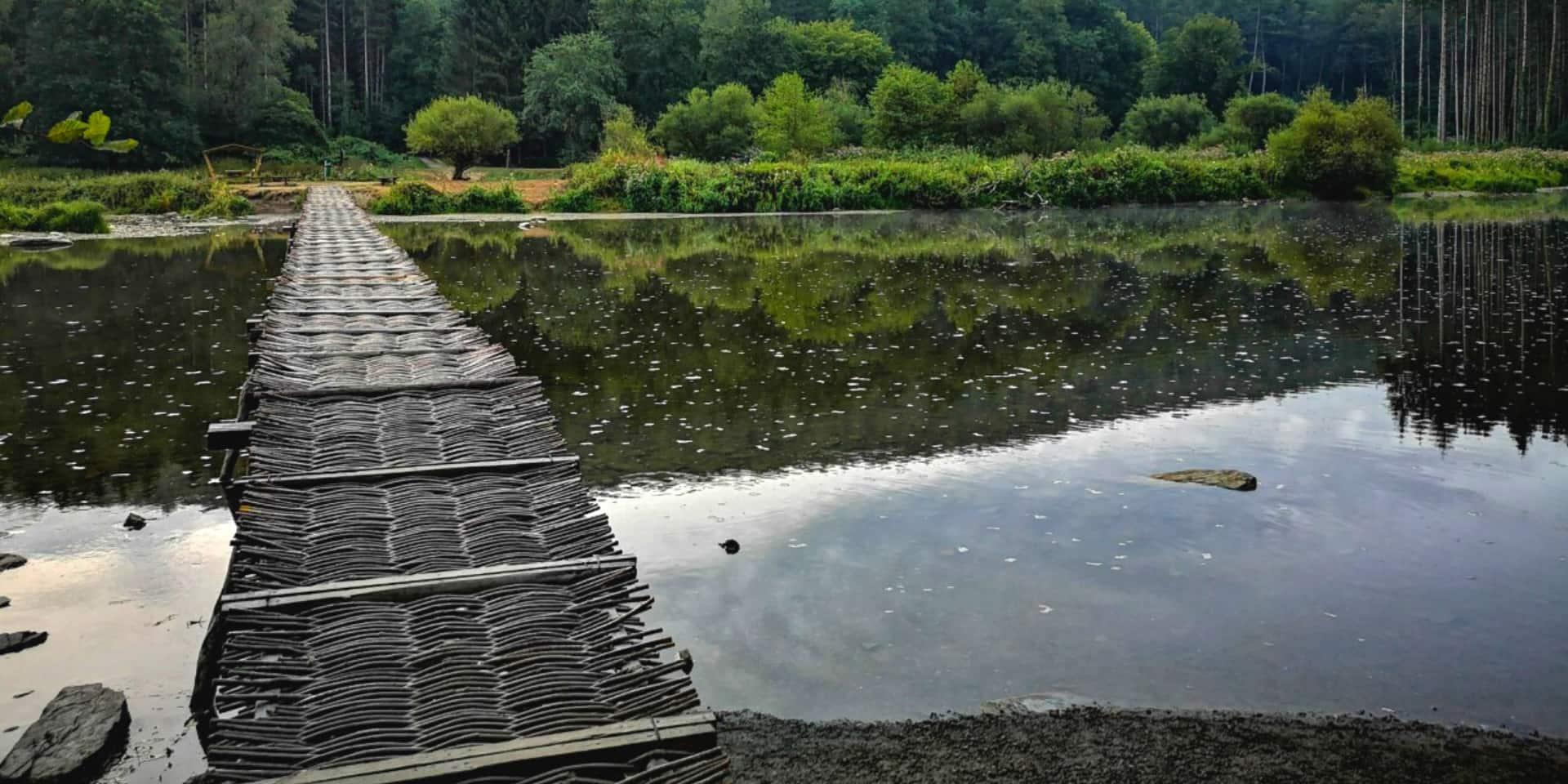 Montage imminent du Pont de Claies à Laforêt