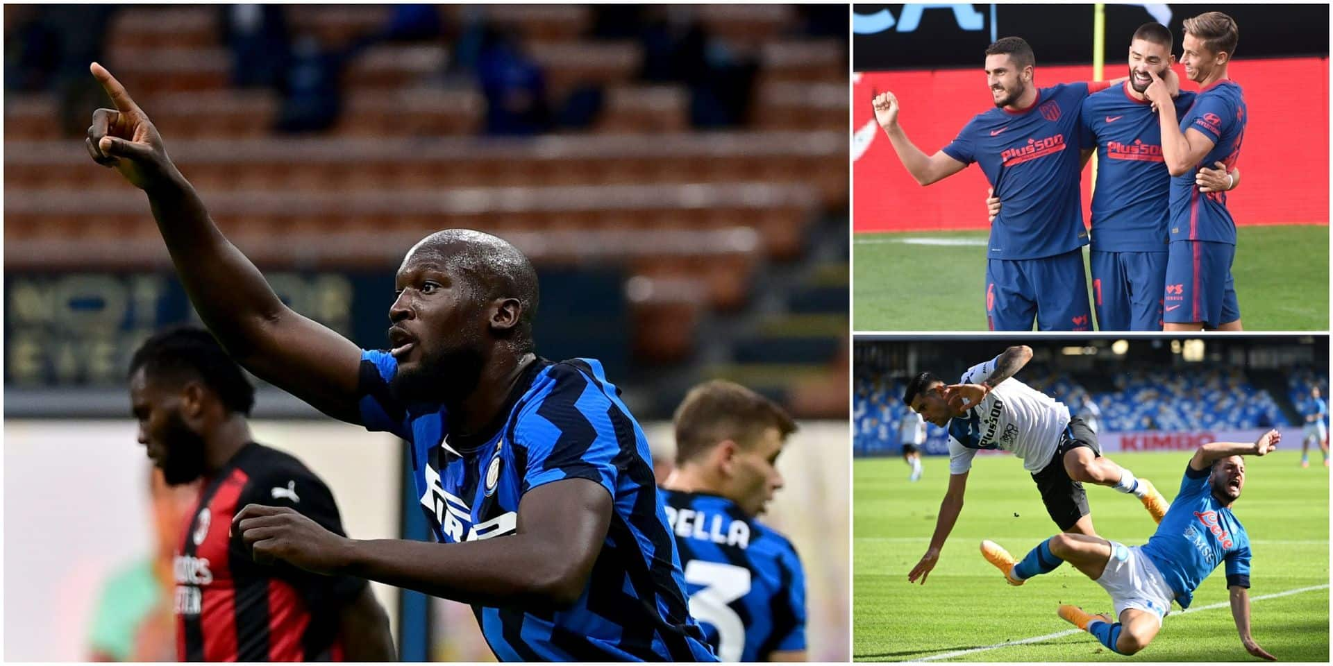 Belges à l'étranger: Carrasco buteur, Mertens à l'assist, nouveau but de Lukaku mais l'Inter perd le derby! (VIDEOS)