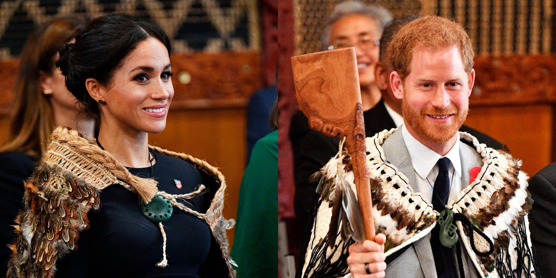 Meghan et Harry : tenues traditionnelles maories (et pieds nus) pour le dernier jour de leur tournée