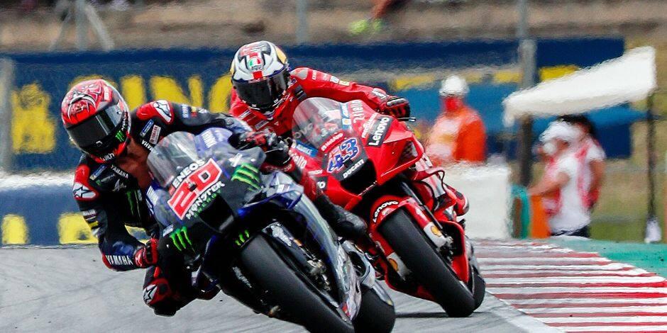 KTM s'invite à Barcelone, Quartararo s'en sort bien !