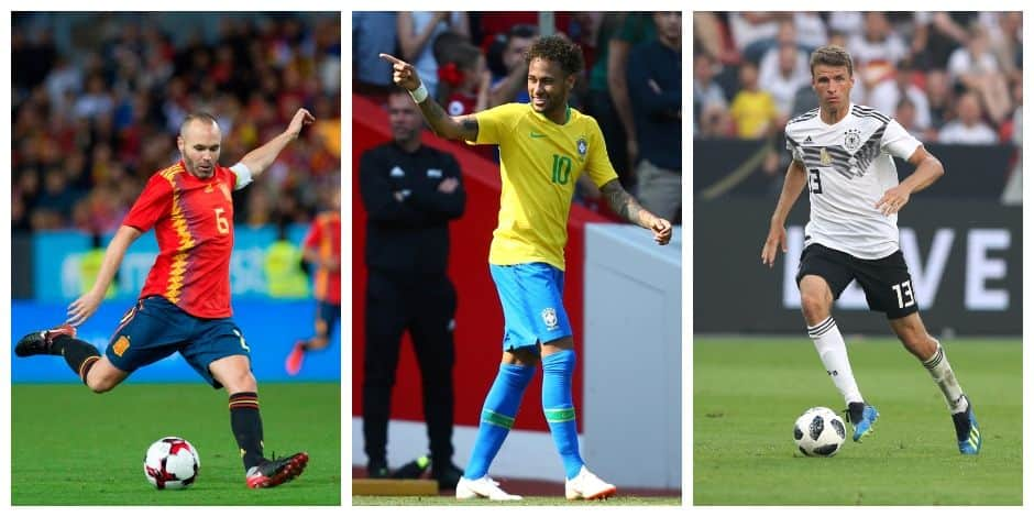 Brésil, Allemagne, Espagne : les grands favoris du Mondial
