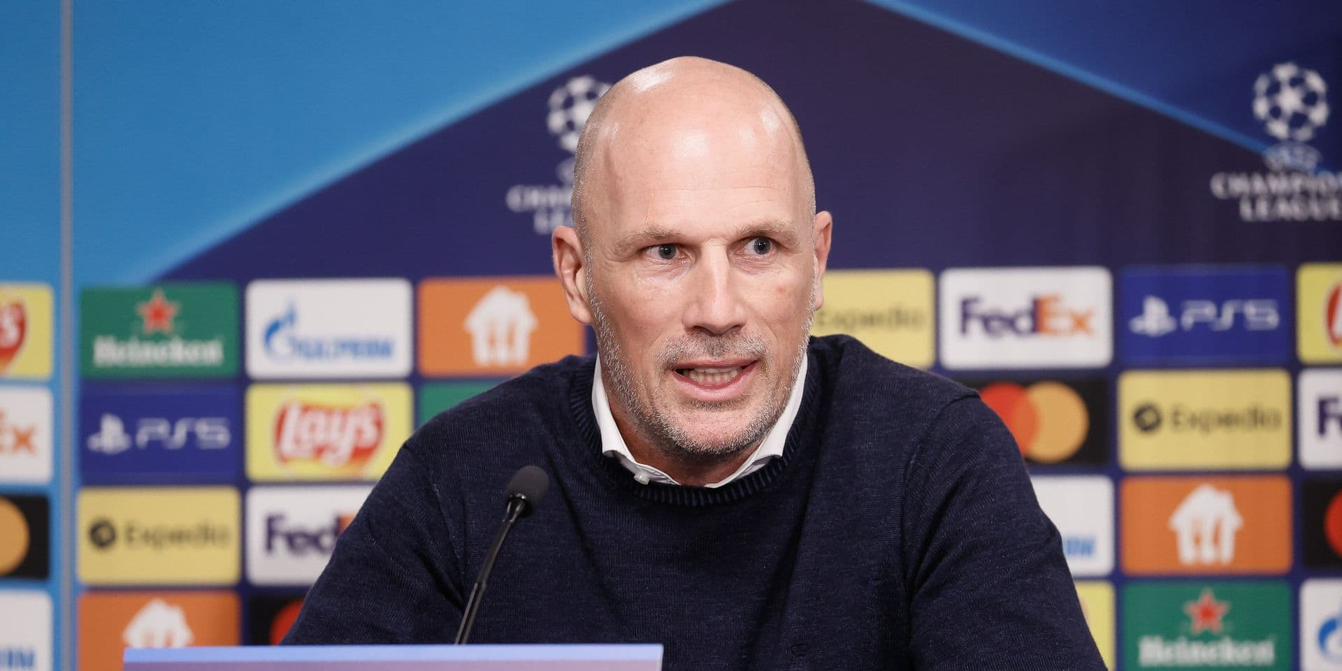Philippe Clement veut répéter la prestation du match contre le PSG