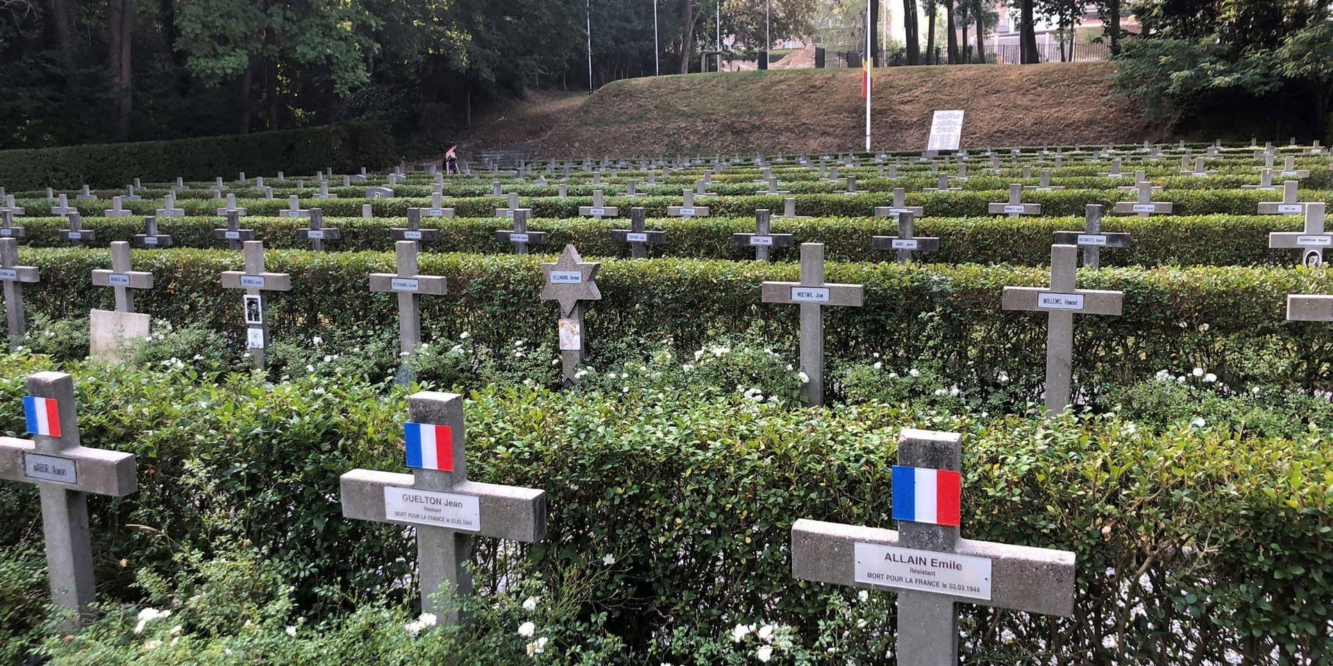 L'Enclos des fusillés, un cimetière bruxellois méconnu en l'honneur des résistants