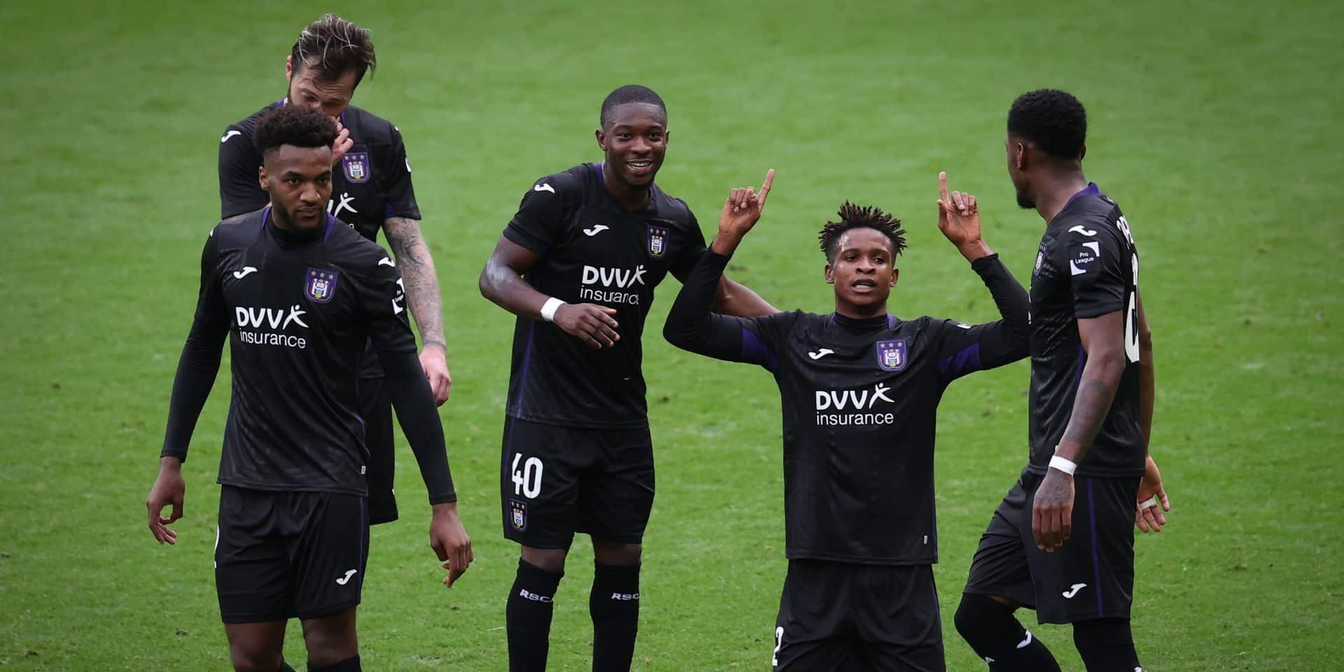 Solide défensivement, Anderlecht bat un bon Antwerp grâce à un beau but de Mukairu (1-0)