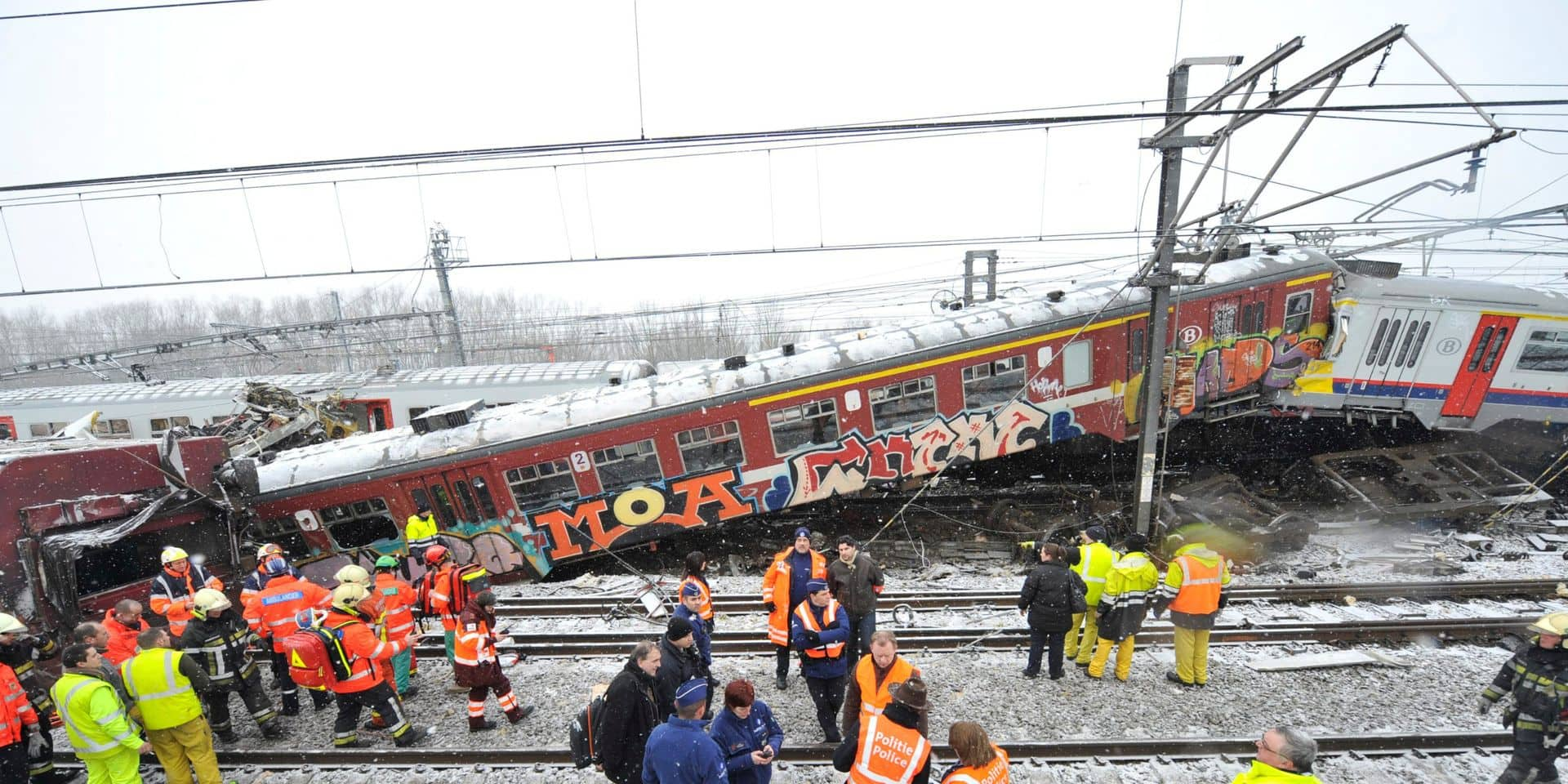 atastrophe ferroviaire Buizingen: La SNCB croit en l'innocence du conducteur de train