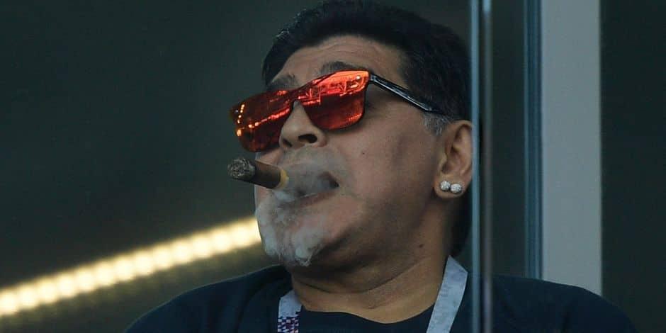 Sergio Ramos tacle Diego Maradona,