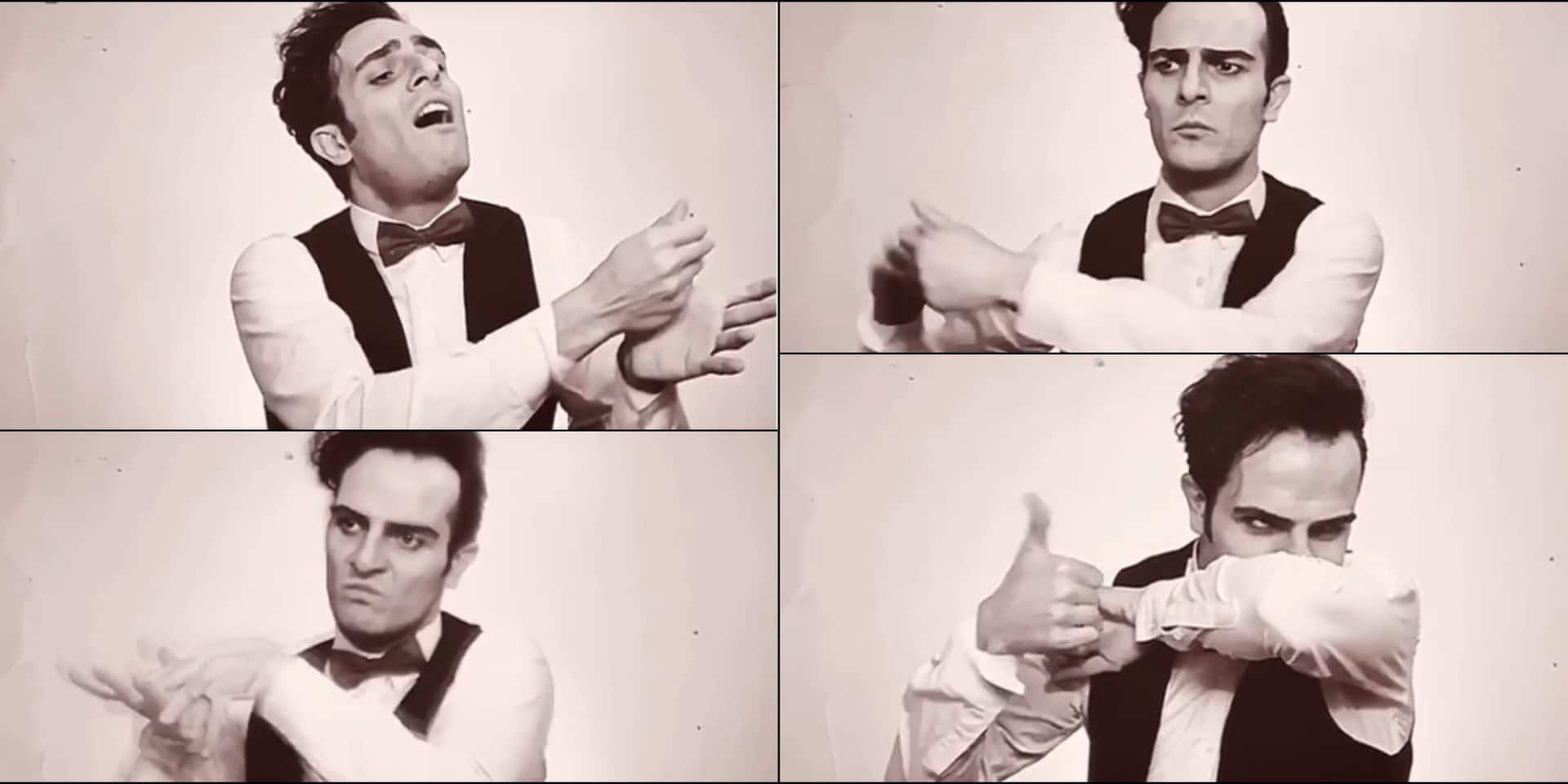 La vidéo très drôle d'un comédien qui montre comment se laver les mains... à la manière d'un chef d'orchestre !