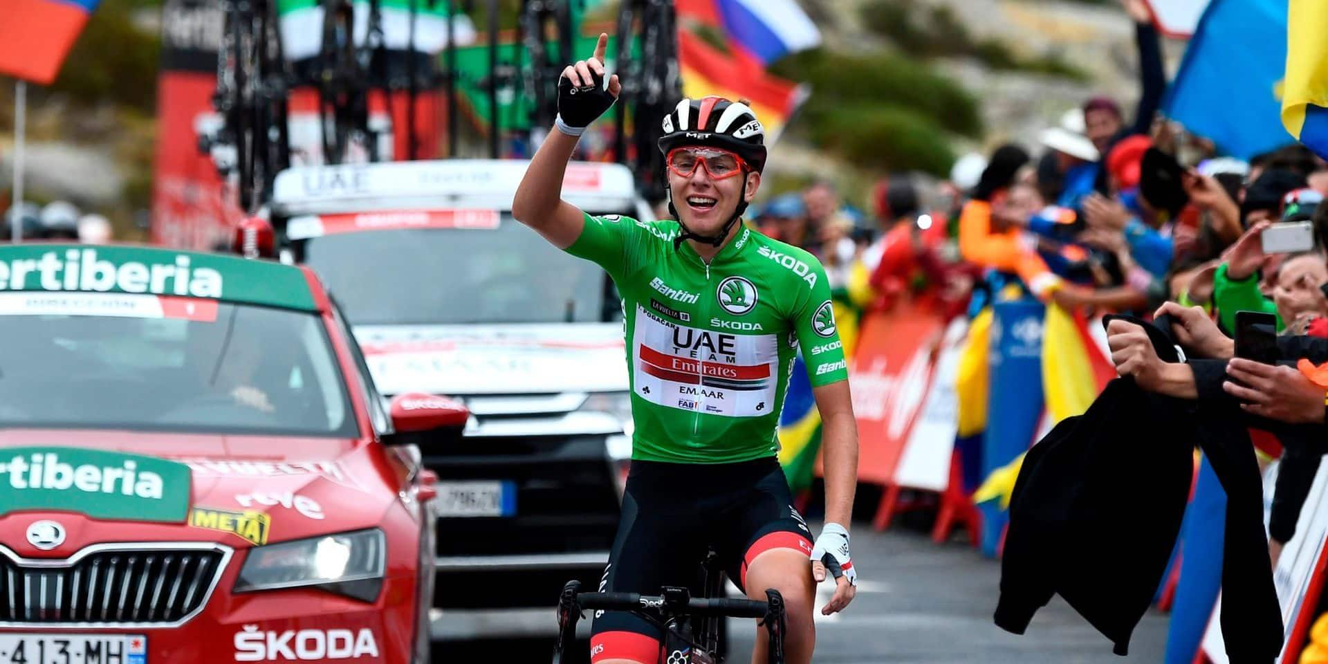 Tour d'Espagne: sacre assuré pour Roglic, étape et podium pour Pogacar