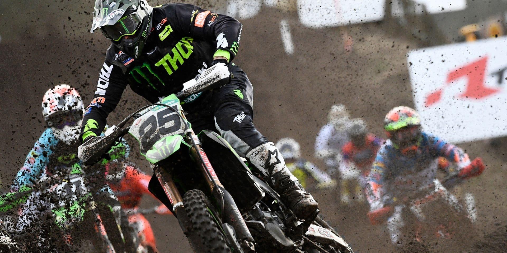 Motocross: Clément Desalle mettra un terme à sa carrière à la fin de la saison