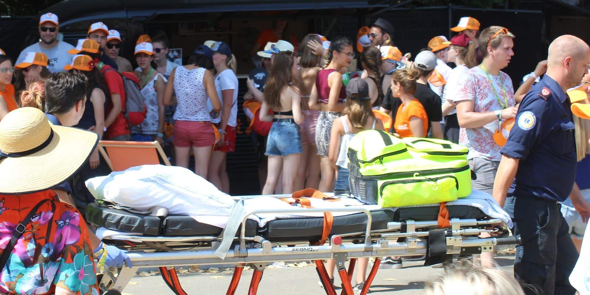 Ronquières Festival : 500 interventions médicales sur les deux jours