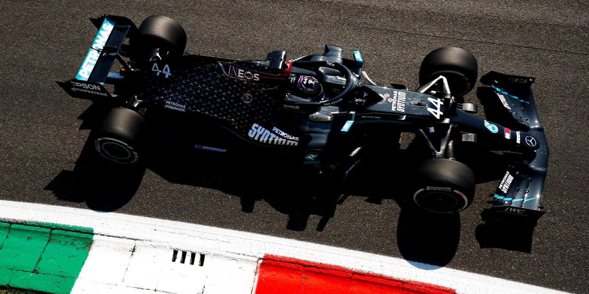 GP d'Italie (Qualifs): Nouvelle pole pour Hamilton, Ferrari se ridiculise à domicile