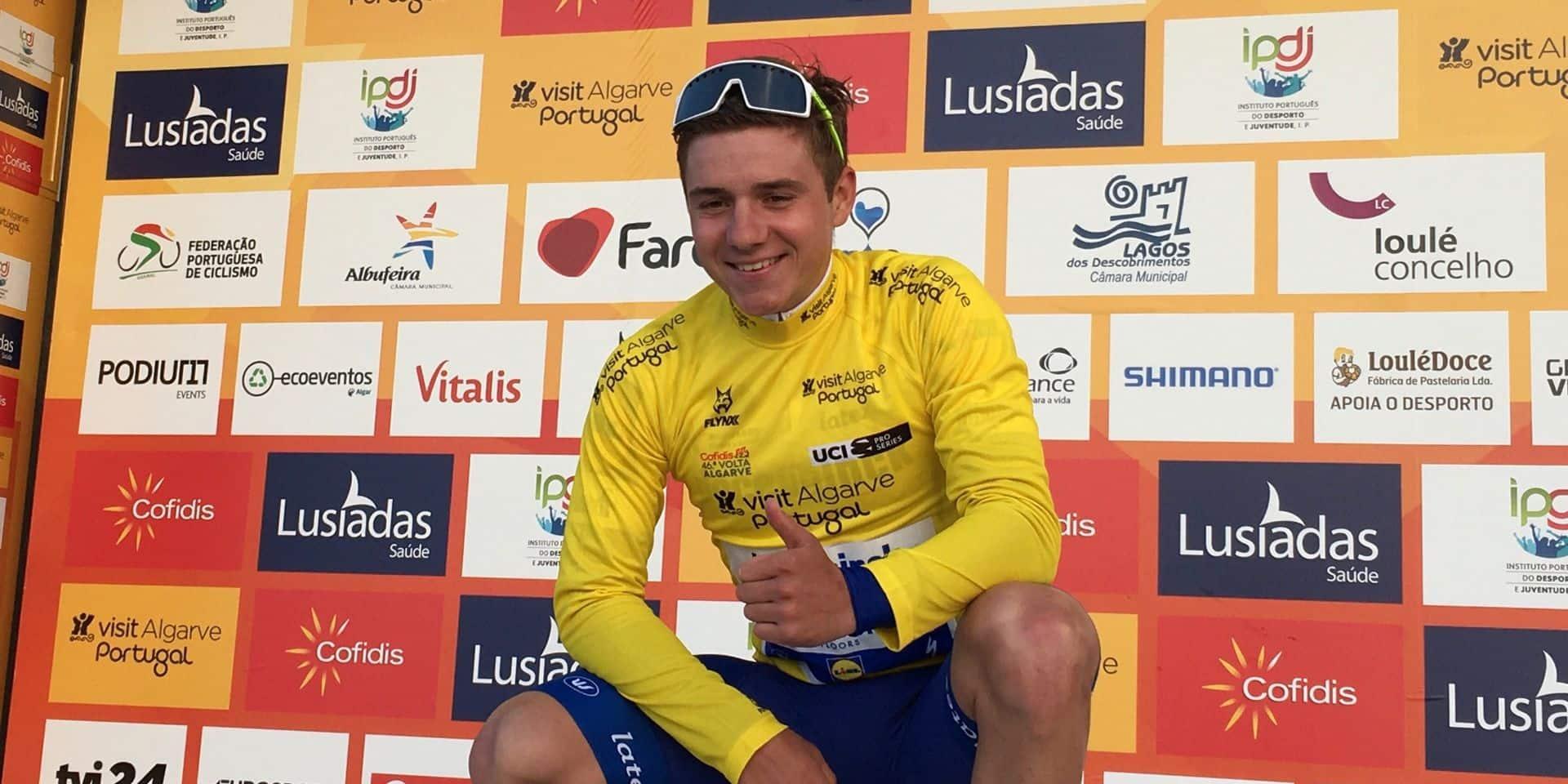Evenepoel... virtuellement gagnant du Tour de Catalogne !