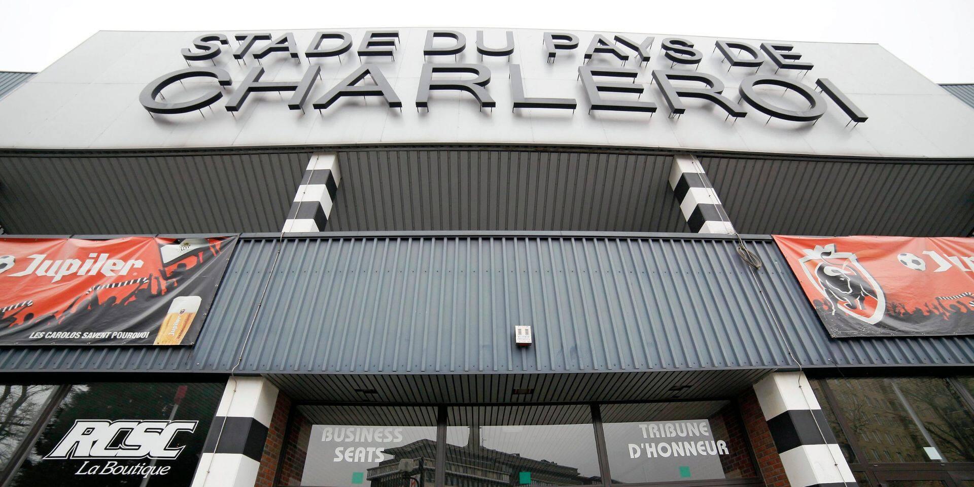 Le nouveau stade du Sporting Charleroi sera bien construit à Marchienne