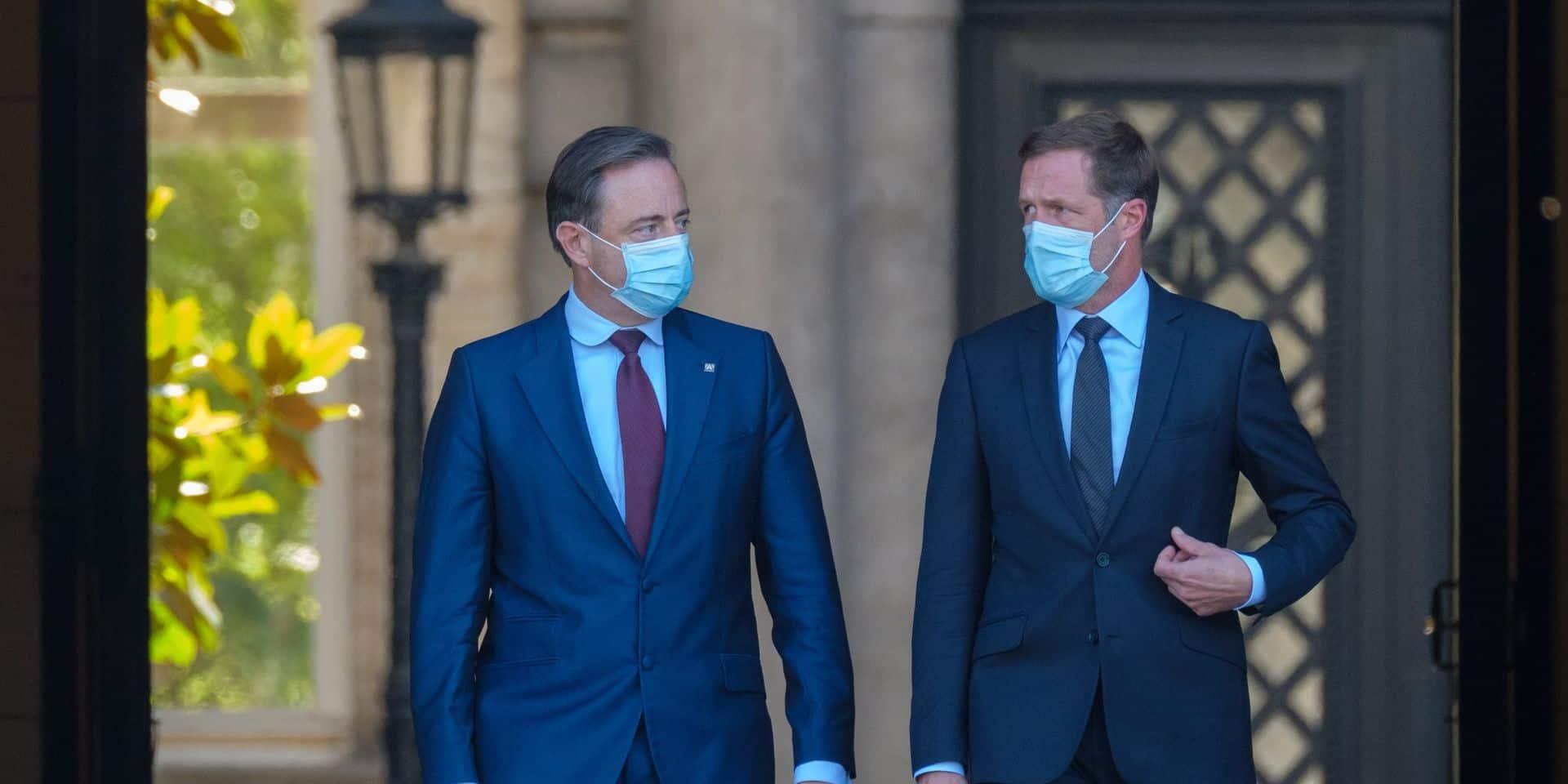 Les libéraux à nouveau à la table du duo Magnette/De Wever, les verts aussi conviés