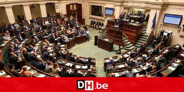 Illustration picture shows a plenary session of the chamber at the federal parliament in Brussels, with the political declaration of Belgian Prime Minister, Monday 08 October 2018. BELGA PHOTO BENOIT DOPPAGNE