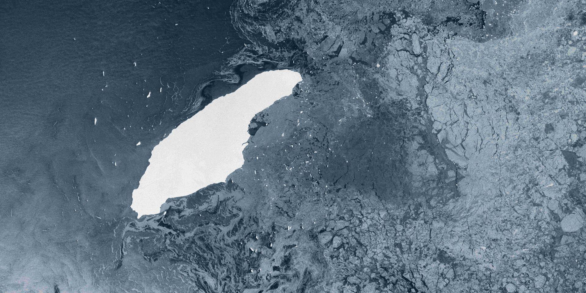 """Longtemps considéré comme le plus grand du monde, l'iceberg A68 a totalement disparu : """"Il est étonnant qu'il ait duré aussi longtemps"""""""