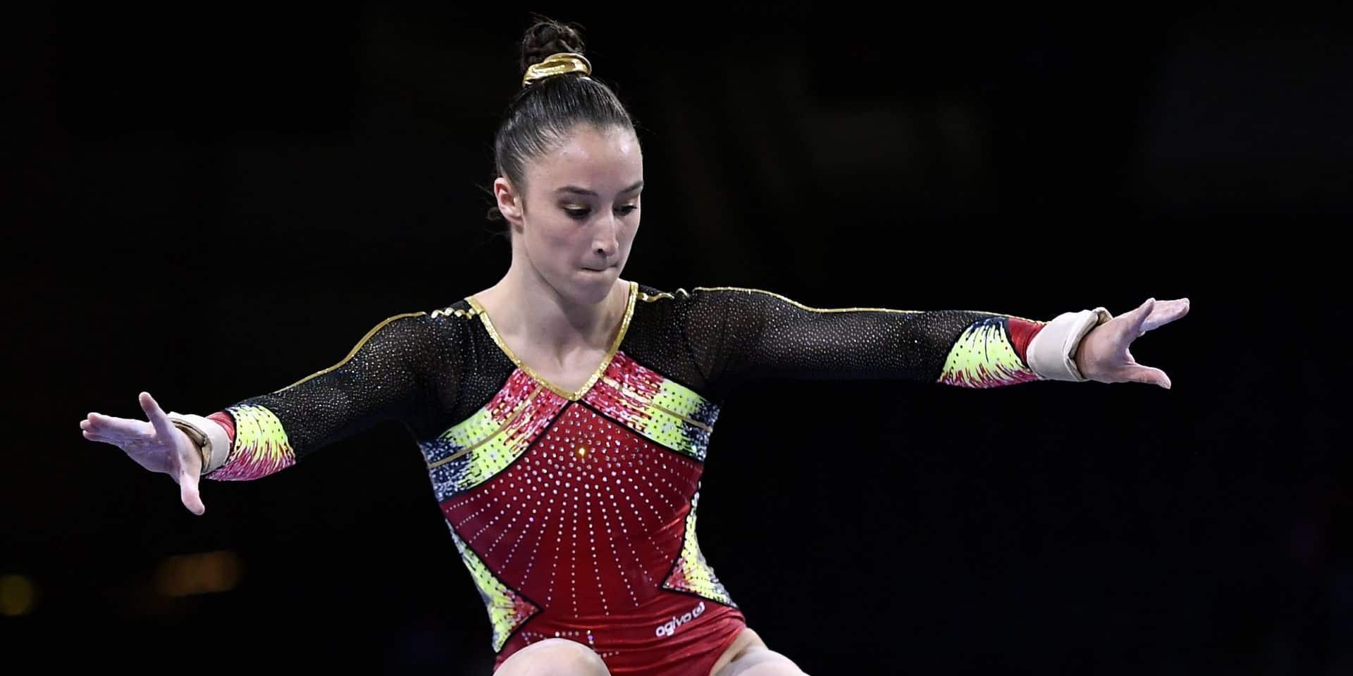 Deuxième victoire en Croatie pour Nina Derwael, qui remporte aussi l'or à la poutre