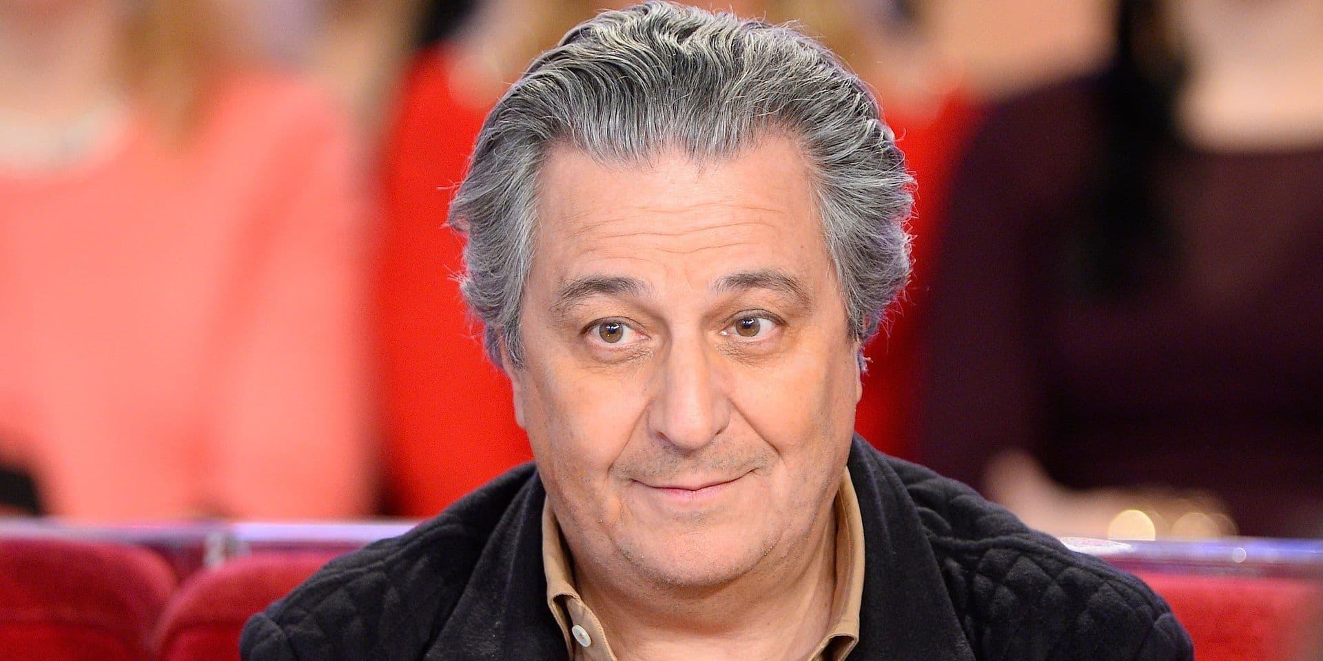 """Enregistrement de l'émission """"Vivement Dimanche"""" à Paris"""