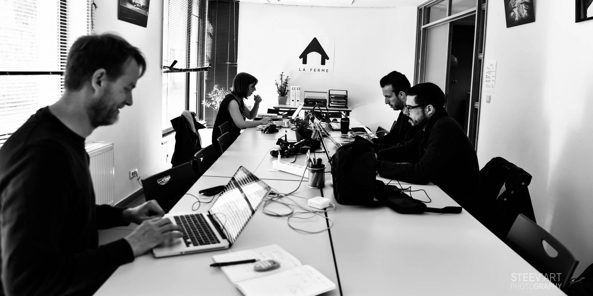 Chimay: La Ferme Coworking est installée