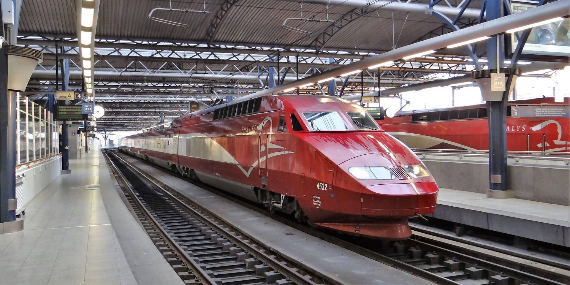 Le Thalys tournera à 68 % de l'offre normale cet été