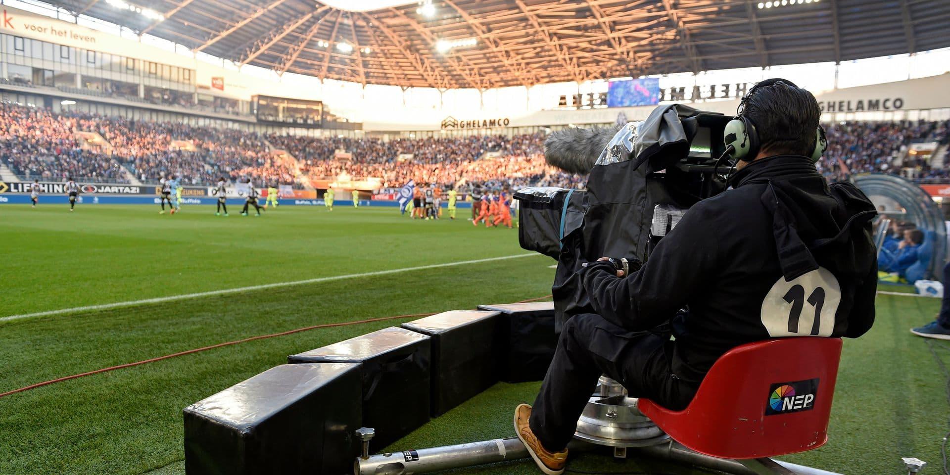 AA Gent v Charleroi - Jupiler Pro League play off 1