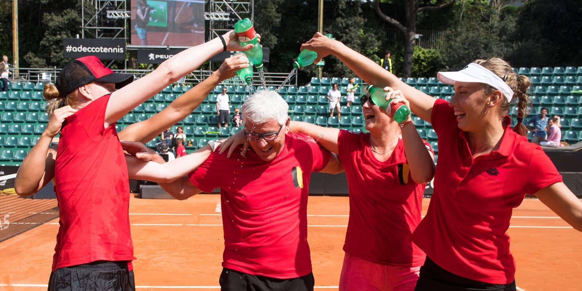 La Belgique ne sera pas tête de série pour la Fed Cup 2019