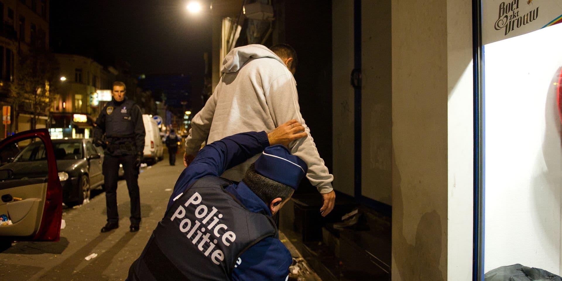 Trois délinquants pris en flagrant délit dans le quartier Nord de Bruxelles