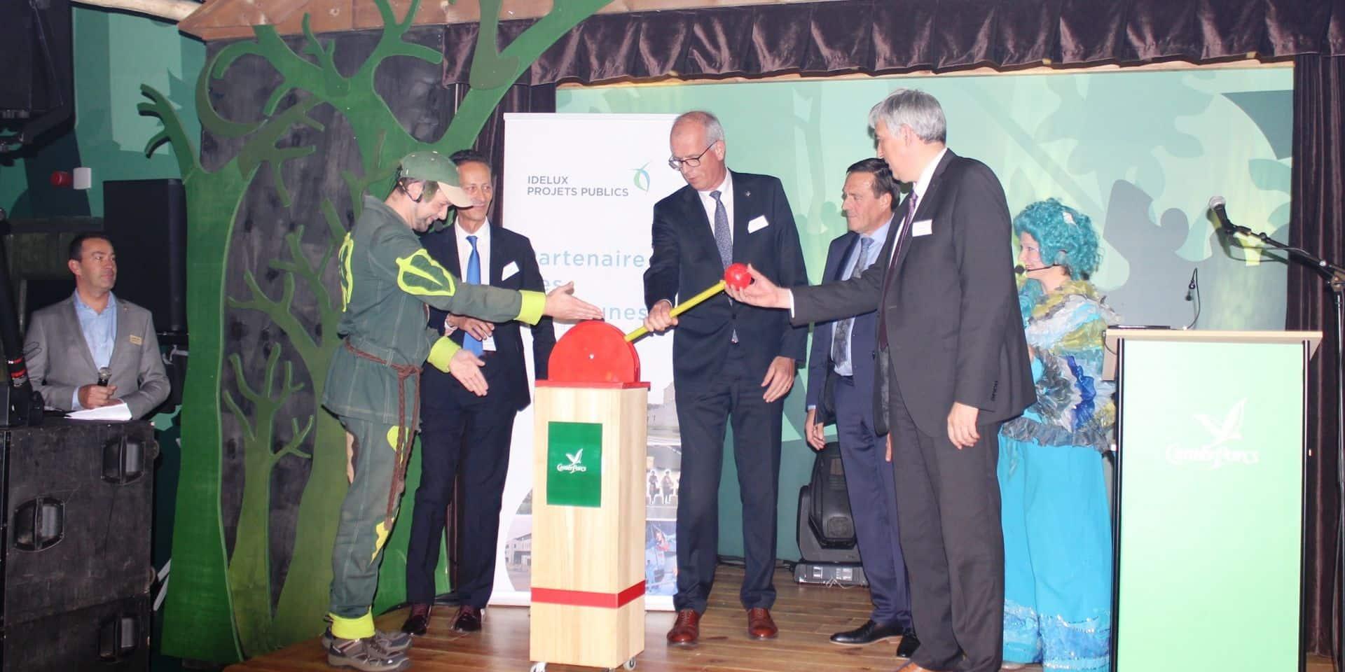 Vielsalm : un investissement de 42 millions d'euros au Center Parcs