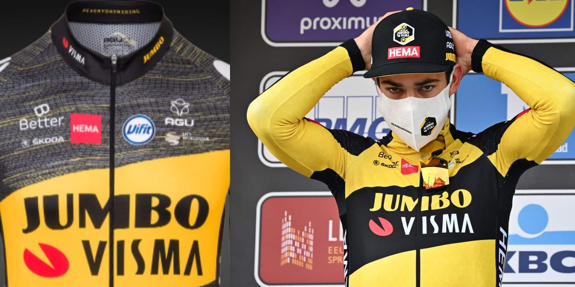Voici le maillot que porteront Van Aert et Roglic sur le prochain Tour de France (PHOTO)