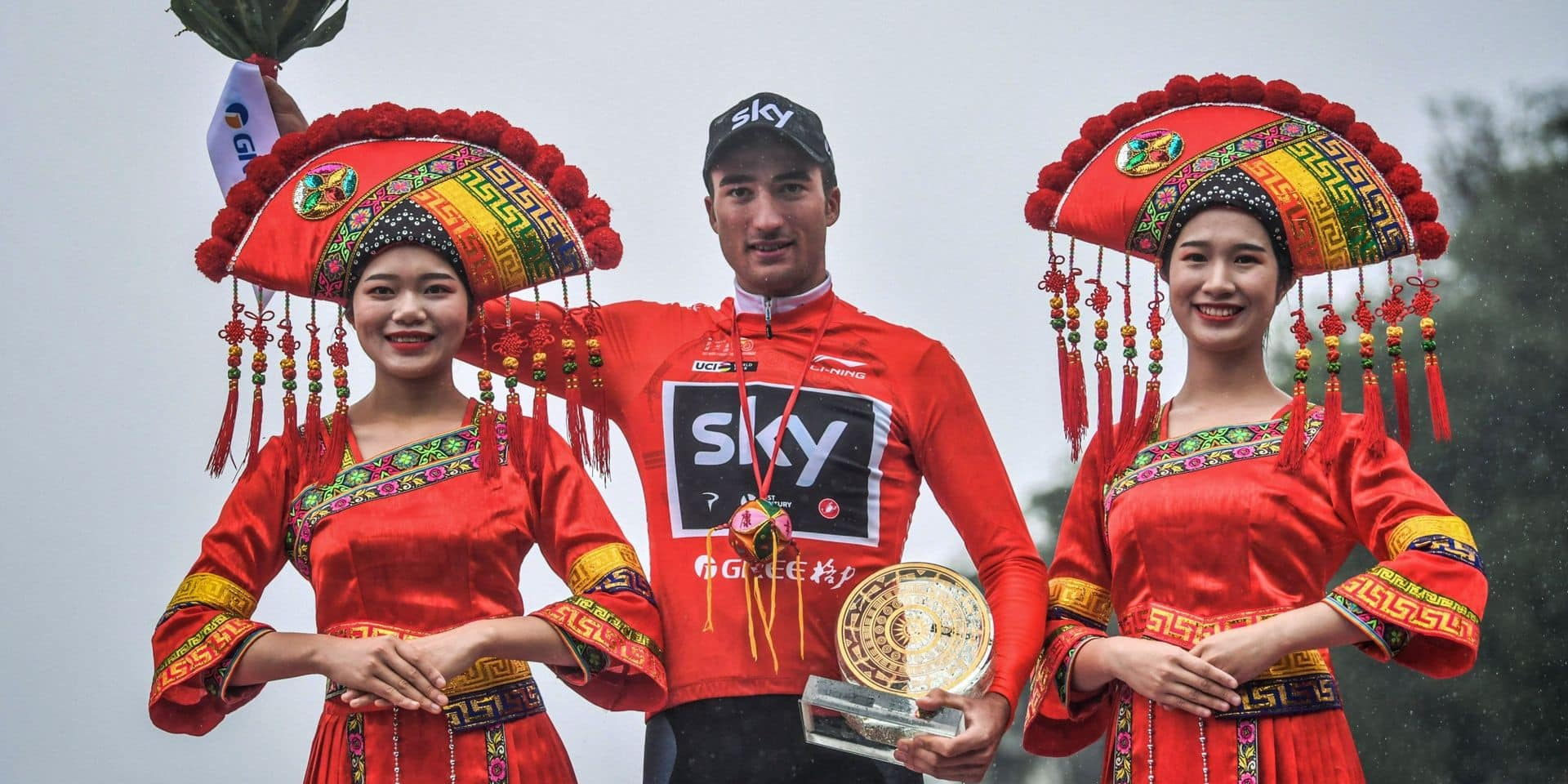 L'Italien Gianni Moscon a remporté l'édition 2018 de la course chinoise.