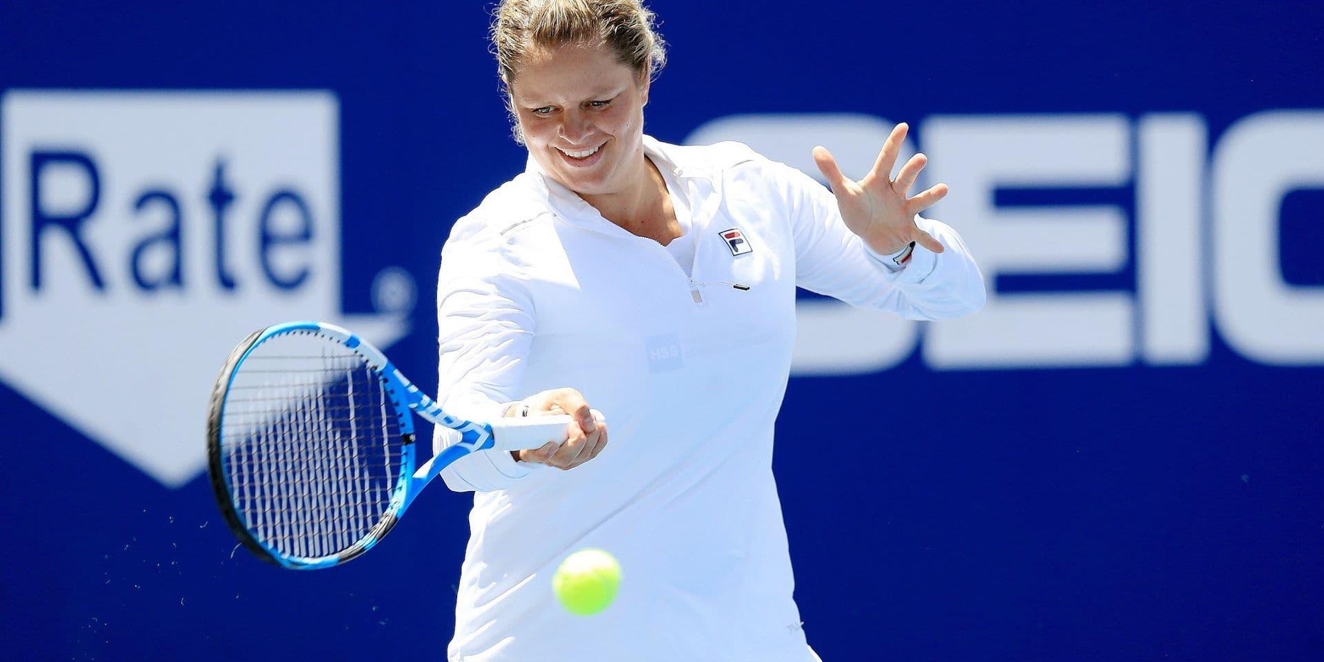 """Kim Clijsters retrouve la forme et se sent prête pour l'US Open: """"Mes abdominaux vont beaucoup mieux"""""""