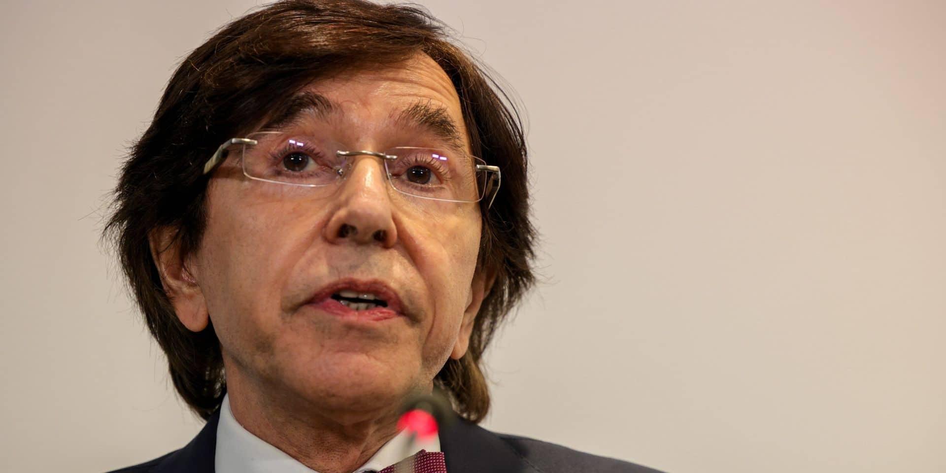 """Elio Di Rupo: """"Une Belgique à 4 Régions, cela aurait le mérite de la simplicité"""""""