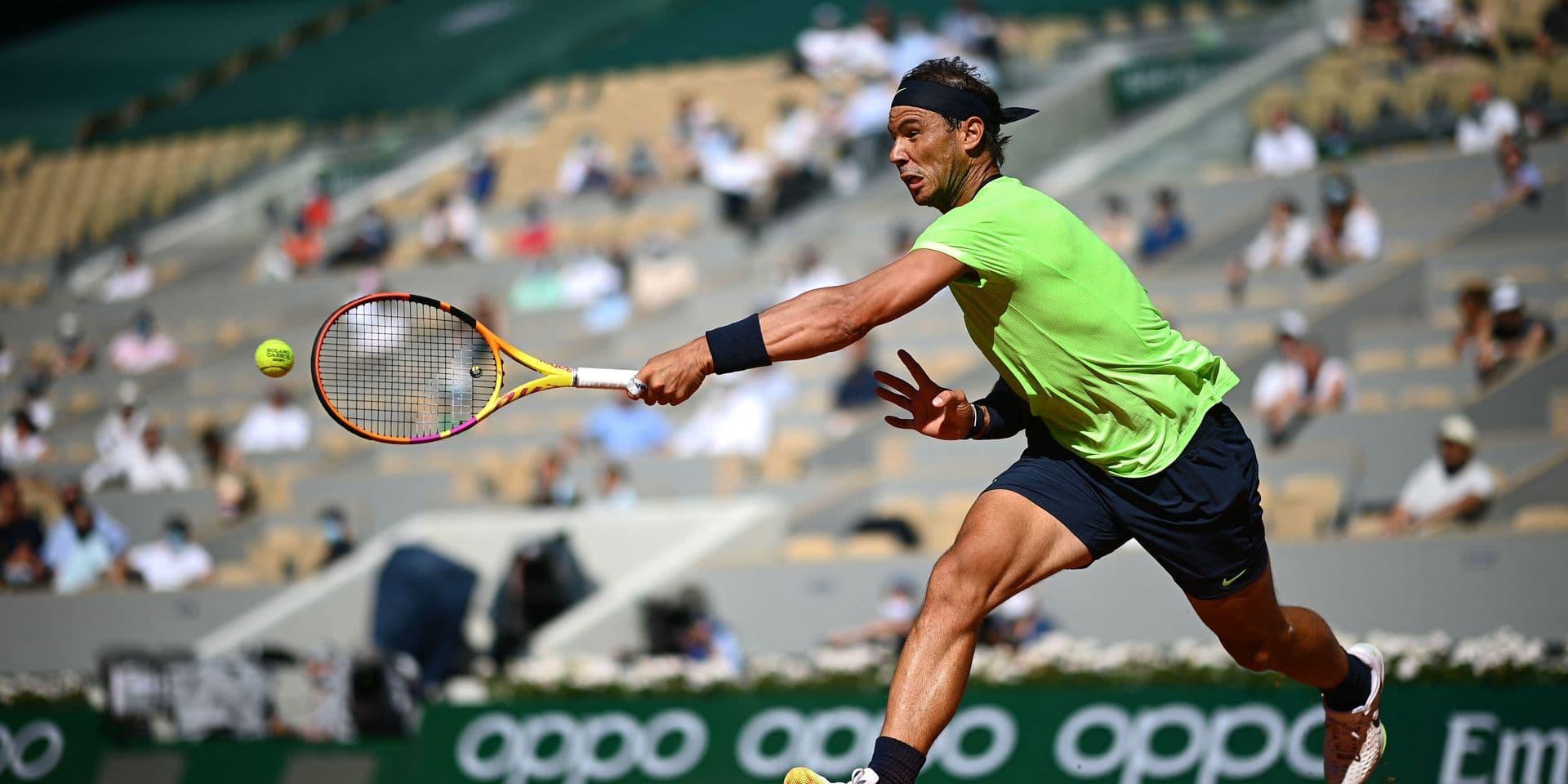 Nadal a déjà trouvé le bon tempo à Roland-Garros
