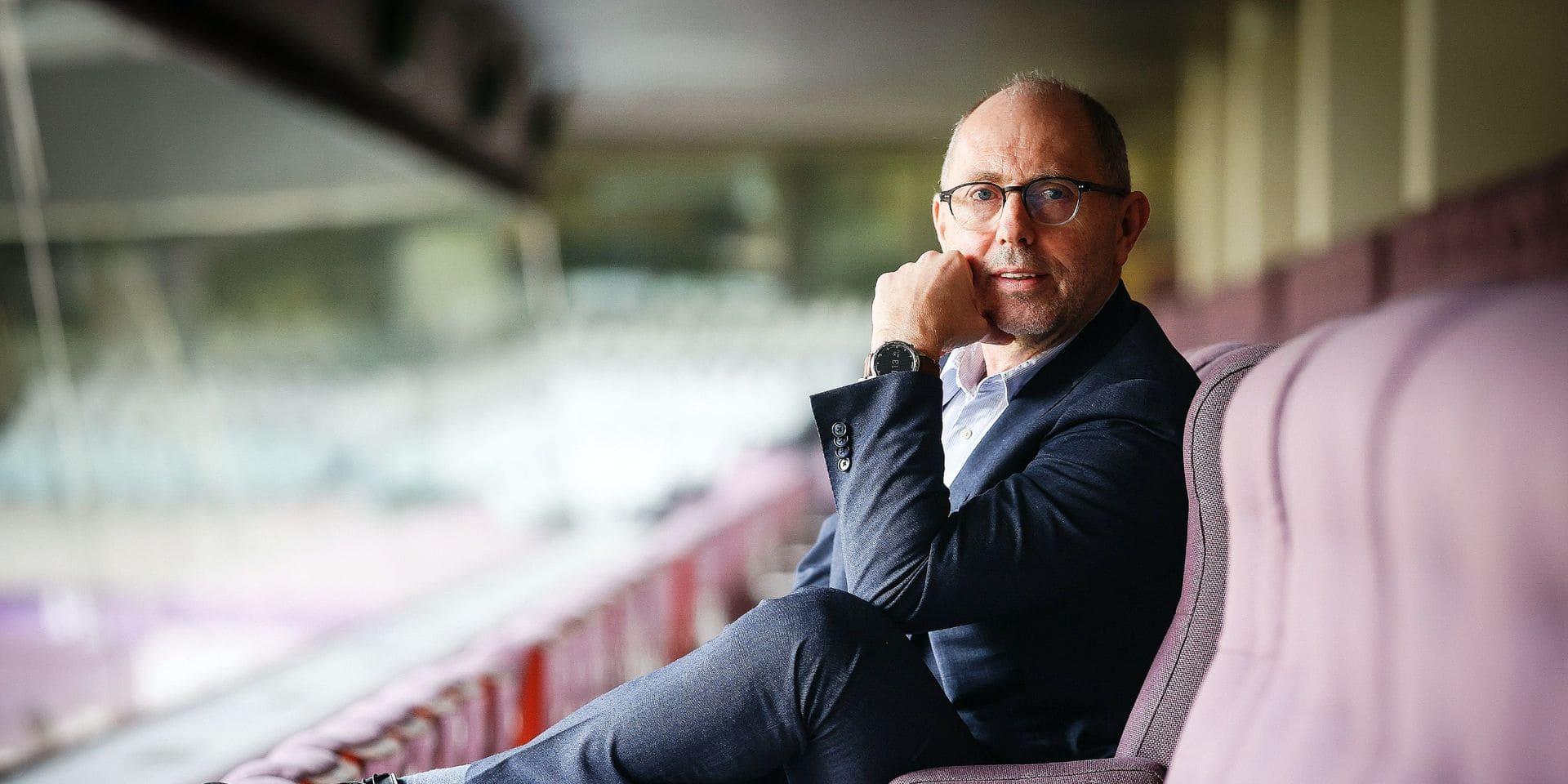 """Jos Donvil, nouveau CEO d'Anderlecht, à coeur ouvert: """"Mon joueur préféré était René Vandereycken"""""""