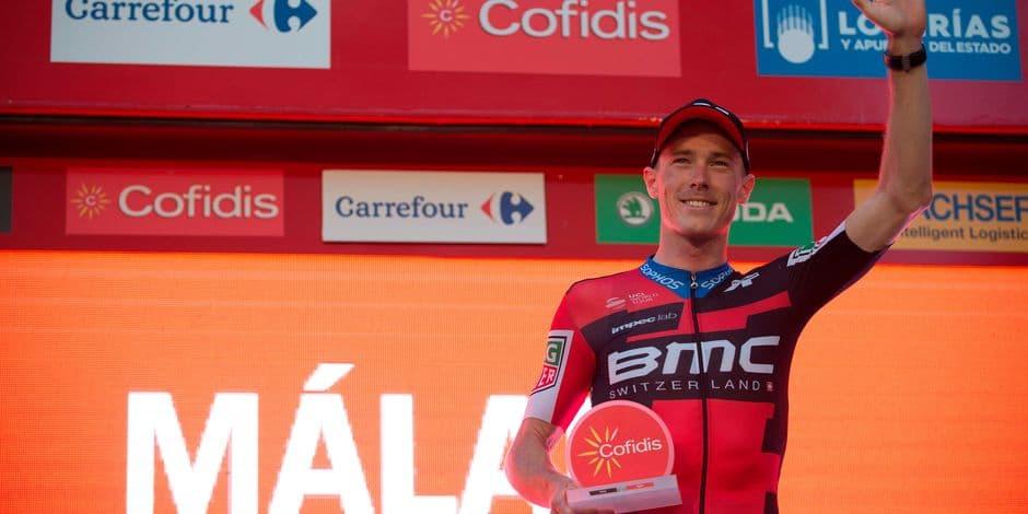 Tour d'Espagne: Michael Woods remporte la 17e étape, Dylan Teuns termine deuxième