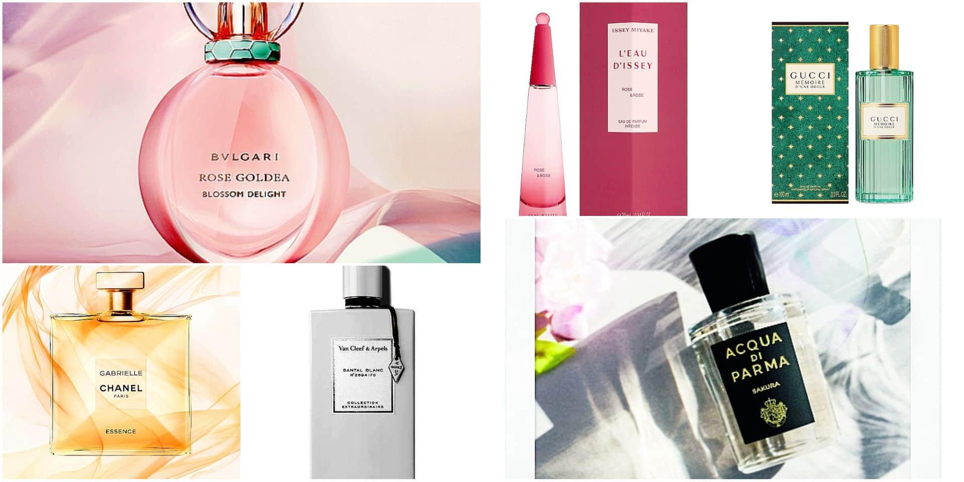 Cela sent bon la rentrée : la rose, star des parfums pour femme