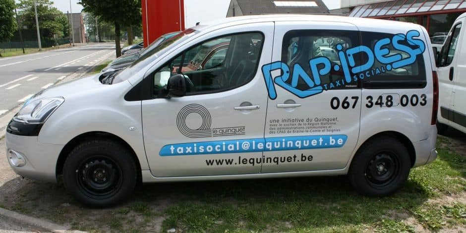 Soignies: appel aux dons pour rendre le taxi social accessible aux PMR