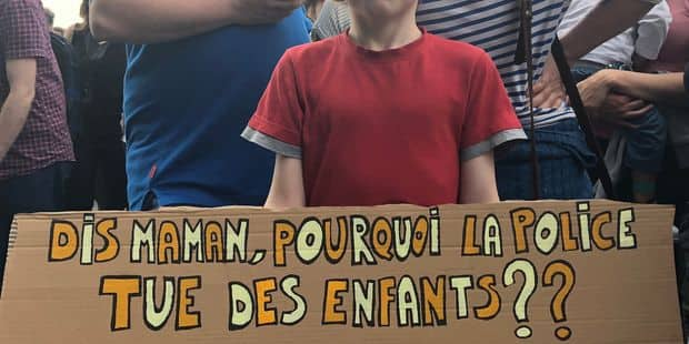 Bruxelles : Des centaines de manifestants ont réclamé justice pour Mawda - La DH