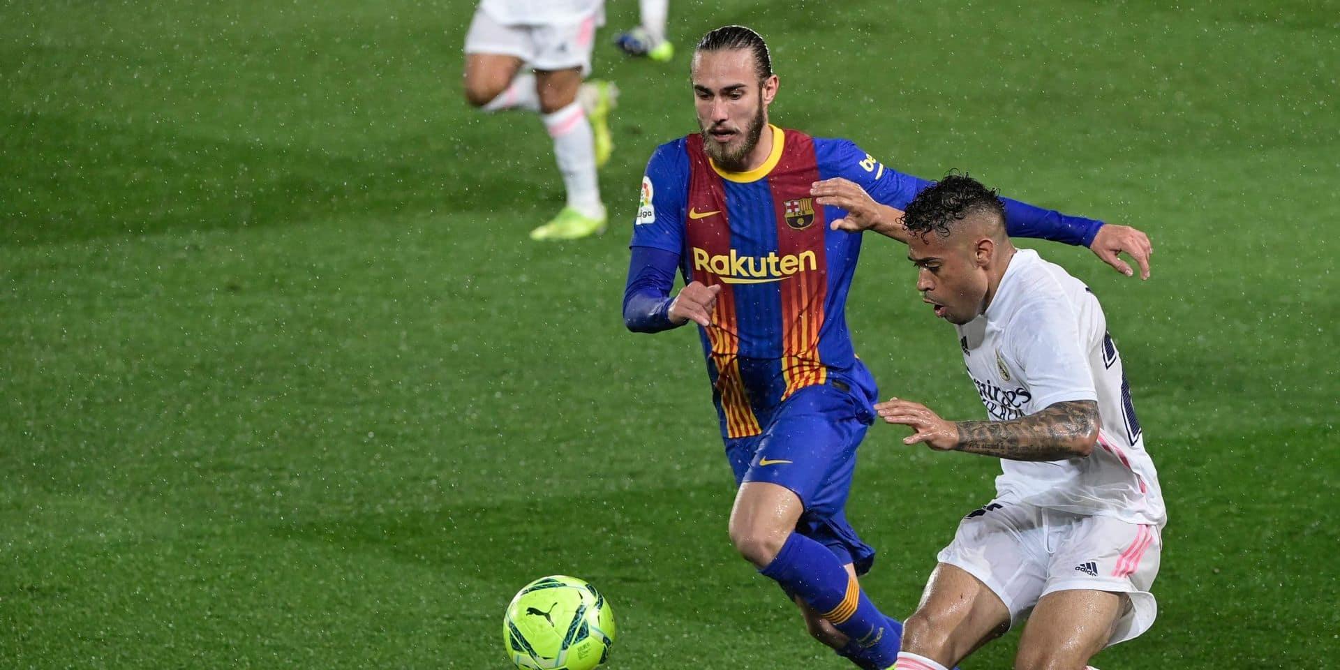 Le jeune Oscar Mingueza sous contrat à Barcelone jusqu'en 2023