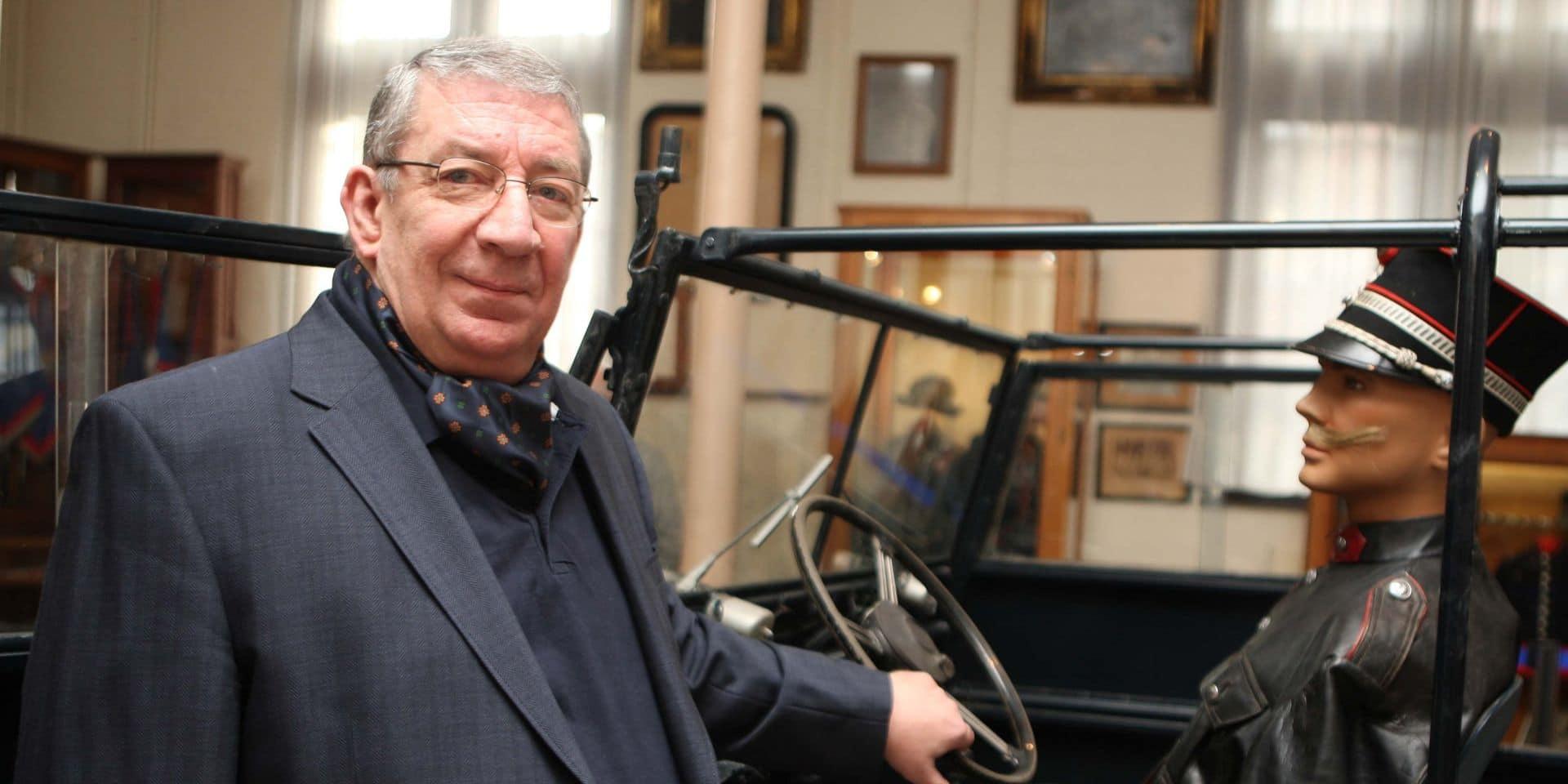 """Le colonel De Bruyn, premier présentateur de l'émission """"Contacts"""" (RTBF), est mort"""