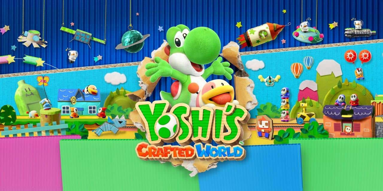 Yoshi's Crafted World: une aventure ludique (TEST)