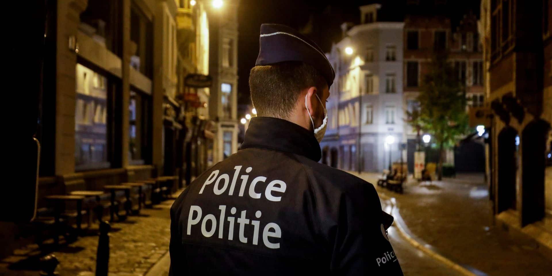 La police de la zone Bruxelles-Ouest a dressé 5.977 procès-verbaux depuis le début de la crise Covid