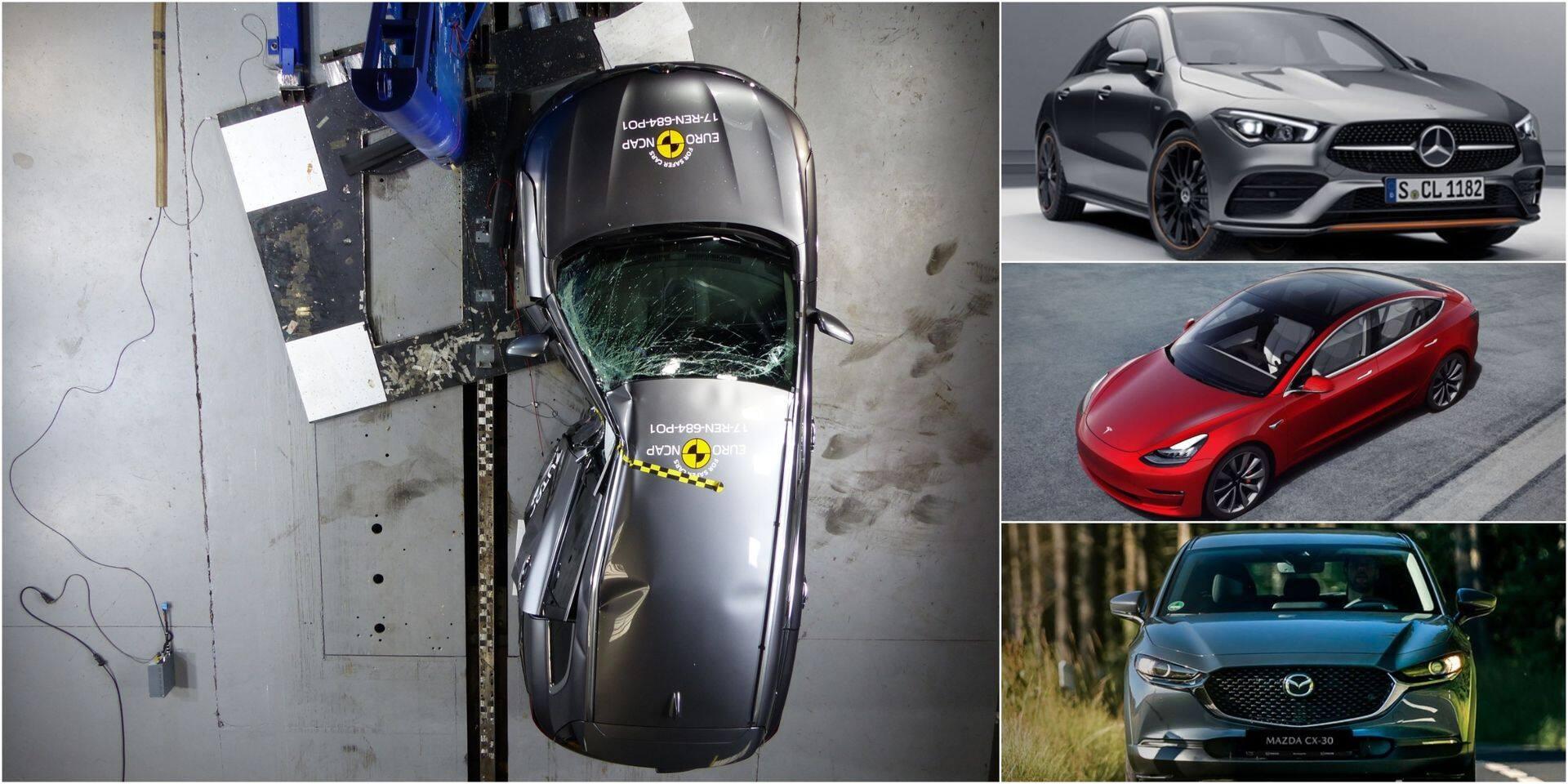 Voici les véhicules les plus sûrs du moment