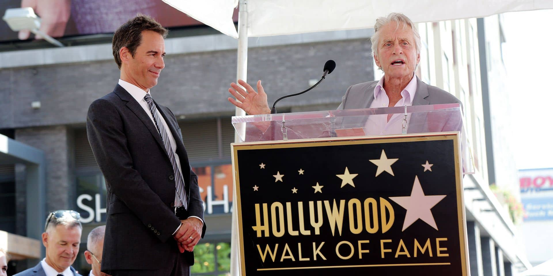 Eric McCormack honored with a Star on the Hollywood Walk of Fame